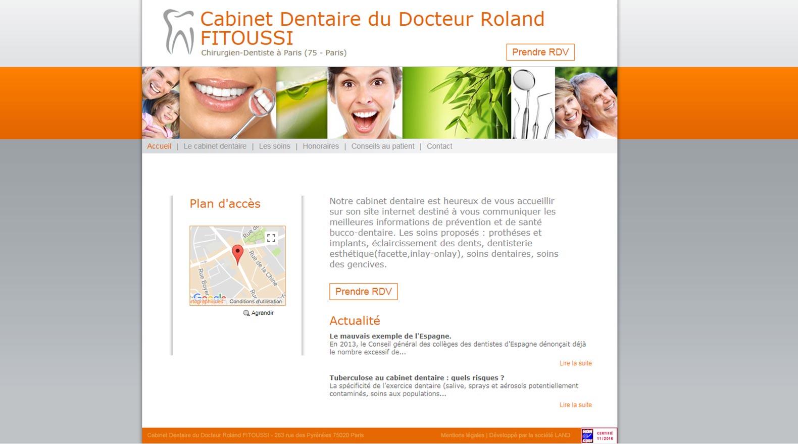 site Roland Fitoussi