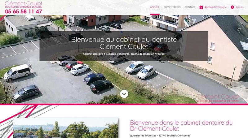 site dentiste Clément Caulet