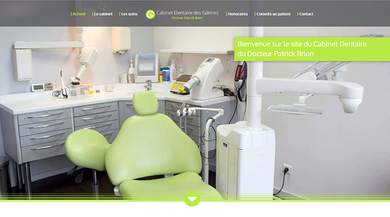 site dentiste Patrick Brion